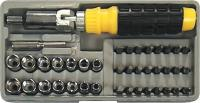 RATCHET daugkartinio naudojimo screwdriver set