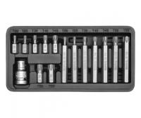 SCREWDRIVER BIT SET TORX 15 PCS