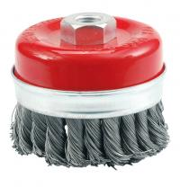 CUP BRUSH - TWISTED WIRE 100 mm
