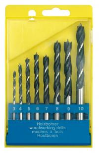 WOOD DRILL SET 3, 4, 5, 6, 7, 8, 9, 10